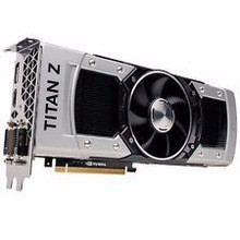 Factory Price For Nvidia GeForce GTX Titan Z 12GB GDDR5 7.0 Gbps PCIe 3.0 x16 SLI Extreme Gaming