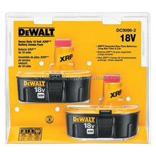 18-Volt XRP Ni-Cad Rechargeable Batteries for DEWALT 18-Volt Power Tools (2-Pack)