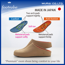 Durable and Easy to use foot care with functional insole room shoes , small lot order available