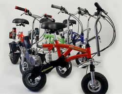 DPX Systems Drill Powered Pit Bike, Electric Bike Powered by Cordless Drill