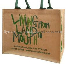2015 best selling wholesale jute shopping bag /customjute bag / jute bag manufacture