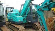 Use japan Kobelco Sk75 crawler excavator,used Kobelco excavators