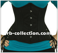 Under bust Corset high quality fabric HT
