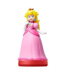 Nintendo Peach Amiibo Figure
