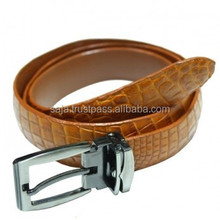Crocodile leather belt for women SWCRB-003