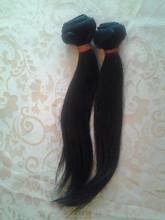 Silky straight Brazilian virgin hair, hair weaving, hair weft