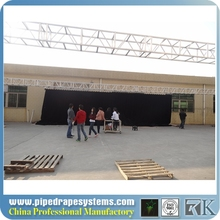 led plywood stage curtain screen