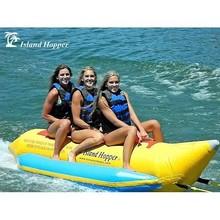 Island Hopper PVC-3 Banana Boat 13' Inflatable 3 Passenger Sled
