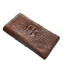 Crocodile leather wallet for women SWCRW-014