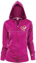 Girls Custom design Hoodies Pink color