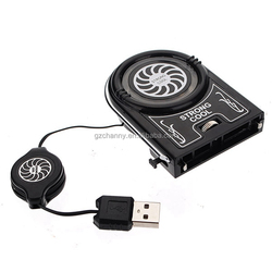 New Arrival Best Price Portable Minu Vaccum USB Blue Light LED AIR Extracting Cooling Fan For Notebook Laptop High Quality