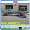 portable stage with wheels folding mobile stage for outdoor concertevent
