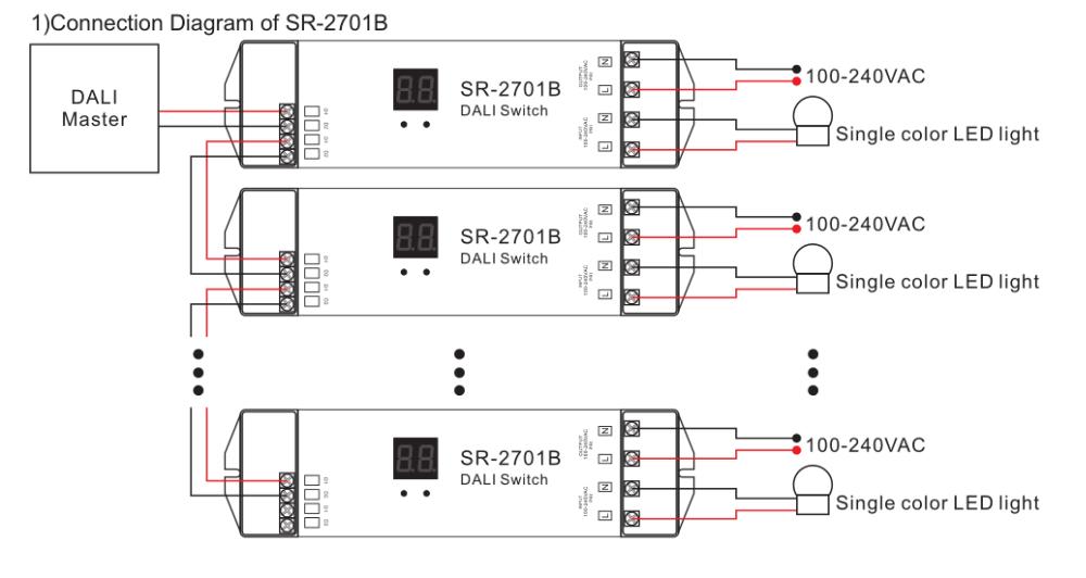 Tuv Dali Switch 5a Sr-2701b - Buy Tuv Dali Switch Product on Alibaba.com