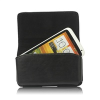 Leather Belt Clip Holster Pouch Case for HTC One X XL One X Plus / For Samsung I9250 pouch case