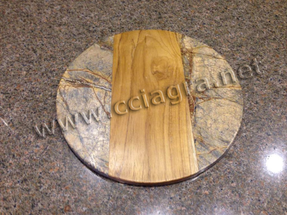 Marble Wood Chopping Block Cheese Board Cutting Board Serving Tray Placemats Trivets