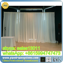 RK pipe drape for outdoor event decoration wedding decor Pipe and Drape Systems Pipe Stand Fabric Drapery