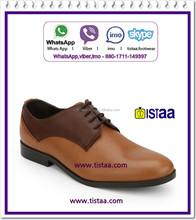 2015 fashion flat genuine handmade men leather dress shoes