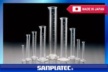 Excelente visibilidad TPX graduado cilindros para pruebas de laboratorio