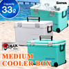 Camping cooler box large 33L(34.9Qt) keep cool chill ice warm Japan made outdoor BBQ sports HOLIDAY LAND COOLER CBX 33L LBL