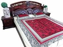 Fashion home /wedding use cheap popular bedsheet,use in home regular/made in india bedsheet multi design
