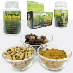 Triphala extract (powder / Capsules ) . Fresh from organic farm By Doctor and Pharmacist