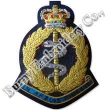 Lingote chaqueta manos insignias bordadas