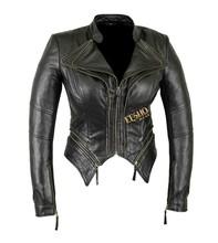 Fancy clothing manufacturer's sexy lady short winter design formal wear fashion winter women jackets