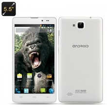 5.5 Inch Kong IPS Android 4.2 Smartphone - White