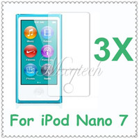 3pcs/lot Ultra Clear Screen Guard Protector Shield Film For Apple For iPod Nano 7 7th Screen Protector