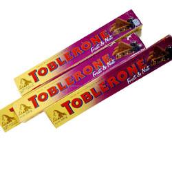 Toblerone Fruit and Nut Milk Chocolate Bars