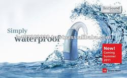 dustproof hearing aid bte