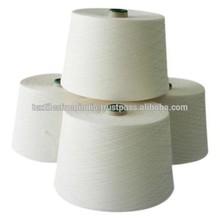 Blanco crudo indias naturales de algodón de fibra larga ne 3/10 hilo bramante cuerda