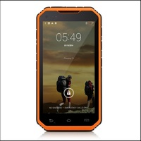 IP68 Smartphone With NFC PTT Dual SIM 5Inch Android 4.4 Mobile phone Waterproof Shockproof Phone LAND ROVER S6