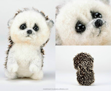"Handmade soft toy made of felting wool ""Hedgehog"""