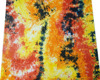 Multicolor Fashion Fabric Cotton Cambric Tie Dyed Pattern Pillow By the Yard FBC1237