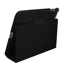 LEATHER COVER CASE WITH FLIP STAND