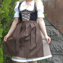 Mini Falda Acampanada, Trajes Dirndl, Lleva Dirndl Alemán, Vestido Dirndl, Tradational Desgaste, (Prendas De Baviera)