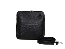 Woman handbags and shoulder bag, Genuine Leather Made in Italy