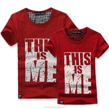 Custom Spandex / cotton t shirt Oem Custom printed t shirts