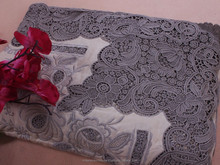 handmade embroidery table cloth handmade work Ecru Argo Lace fine embroidery tablecloths Large size 72 x 144 inch large size