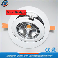 luxury Copper led panel light round