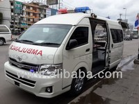 Toyota Commuter Ambulance made in Thailand