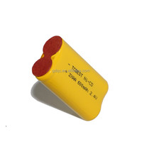 China Supplier LiSO2 23 AA size 6 volt dry cell battery
