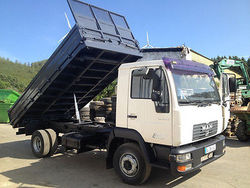 Used MAN LE 180C 4x2 Tipper - Left Hand Drive - Stock no: 13514