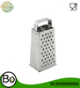 stainless steel multifunction cheese grater