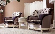 luxury antique latest sofa design, classic carving living room sofa