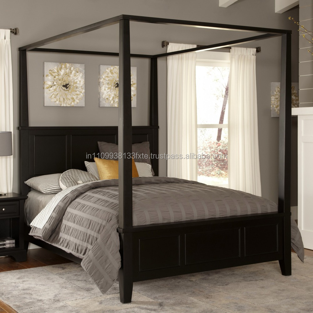 Bedford Canopy Bed Wooden Double Bed Designs For Appartments Double Wooden Bed Modern Double Bed