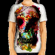 Fat mulheres camiseta corte personalizado projeto quente