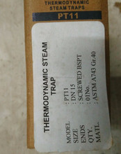 Thermodynamic steam trap