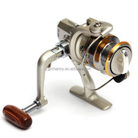 Outerdo 2015 Hot Sale New Spinning Spool Aluminum Fishing Reel SG1000 6 BB 6BB High Power Fishing Tackle Line Bait Gear
